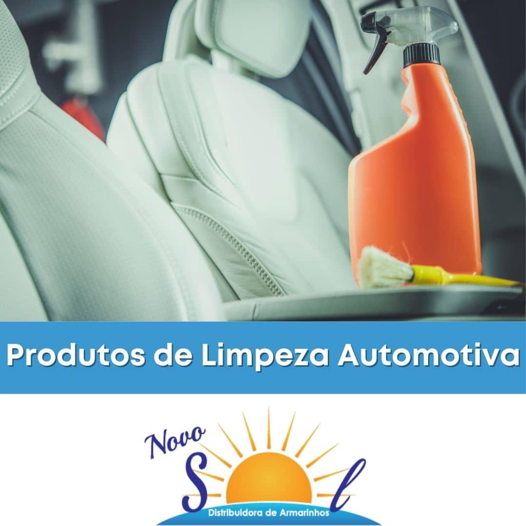 Produtos de Limpeza Automotiva
